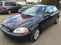 1998 Honda Civic DX HATCHBACK AUTOMATIQUE MEC A-1 BODY CLEAN