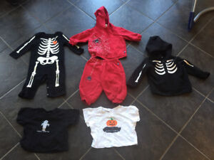 6-12 month Halloween lot (t-shirts are 6-9 months)
