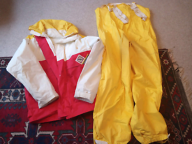 Mans Sailing jacket and trousers