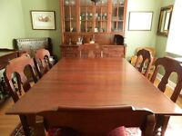 Gibbard Solid Cherry Dining Suite