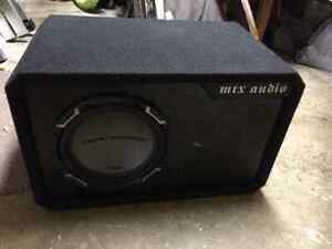 Sub and amp for car