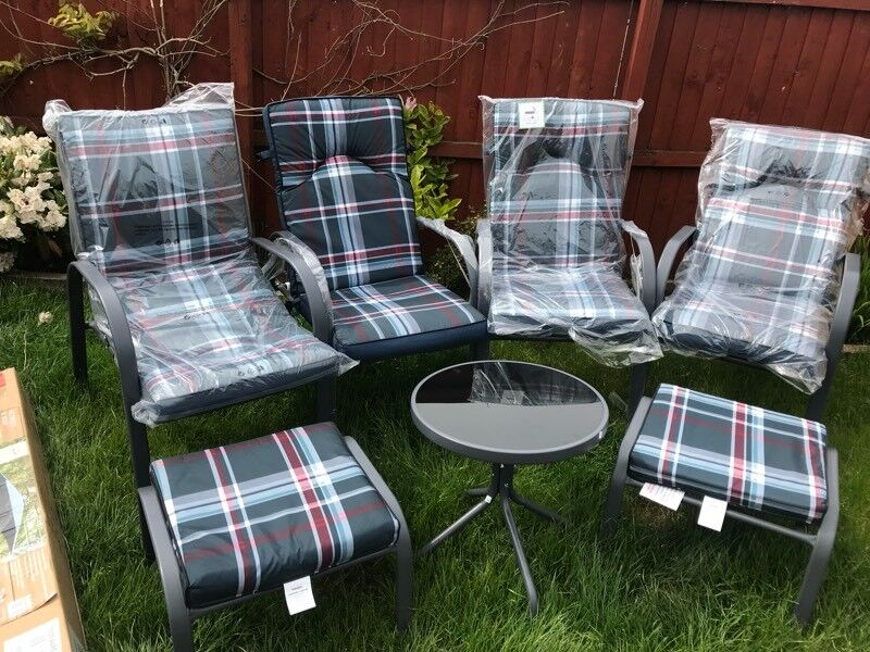 9 piece Garden Large Table and Chair Set,Detroit Dinning ...