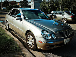 2004 Mercedes-Benz E-Class Sedan