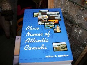 Book  Place Names of Atlantic Canada