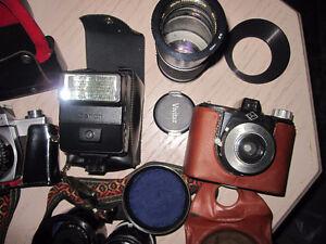 vintage antique camera photography lot