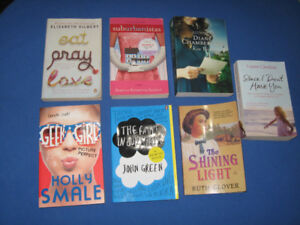 Romance and female type books, lot of 7 assorted
