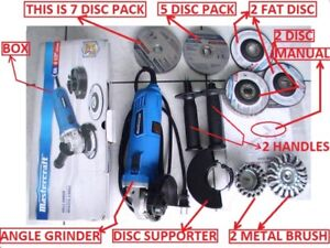 ANGLE GRINDER BRAND NEW, WITH ALL ACESSORIES, FOR SALE - $115