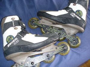 Patins à roues alignées Bauer X.TRA homme 10.5 West Island Greater Montréal image 2
