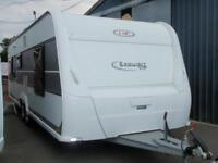 2014 LMC 655 VIP,5 BERTH FIXED BED.CHOICE OF TWO.