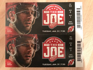 New Jersey Devils vs Detroit Red Wings Tickets