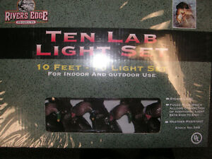 Collectors indoor/outdoor Patio Lights-Chocolate Hunting Lab  -
