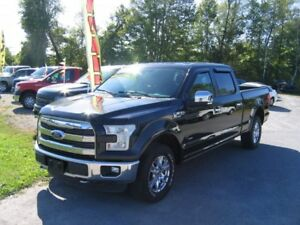 2015 Ford F-150 Lariat SuperCrew 4x4 EcoBoost