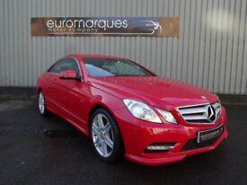 Mercedes E Class 2.1 E 220 CDI BLUEEFFICIENCY SPORT (red) 2012