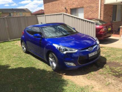 HYUNDAI VELOSTER 2012 1.6L, LEATHER, LOW KMS