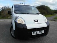 2011 61 PEUGEOT BIPPER 1.4 HDI S 1D 68 BHP **LOW MILEAGE - 26K**LOVELY CONDITION