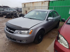 2009 SONATA JUST IN FOR PARTS AT PIC N SAVE! WELLAND