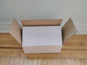 "350 Corrugated boxes (14-5/16"" x 7-1/8"" x 4-15/16"")"