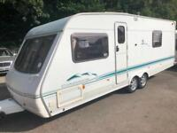 ☆ SWIFT CONQUEROR 630LUX ☆ TWIN AXLE ☆ FIXED BED TOURING CARAVAN ☆