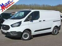 2018 Ford Transit Custom 300 TDCi 105PS 'Base', Euro 6, SWB, Low Roof Panel Van