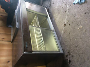 Silver king commercial freezer/refrigerator