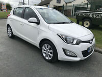 63 HYUNDAI i20 1.2 ACTIVE IN WHITE 5 DOOR VERY CLEAN EXAMPLE