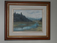 SIGNED OIL PAINTING....by M Norris Crowe