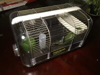 Hamster cage, rat, mouse, wheel, water feeder