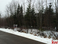 Private 1 acre lot only 10 minutes from Moncton. Pine point dr