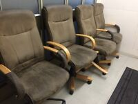 4 Office Chairs **FREE**