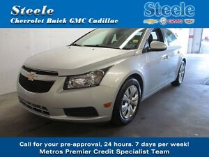 2014 Chevrolet CRUZE 1LT One Owner Just off Lease...