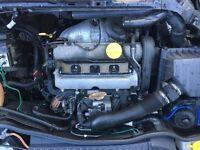 Vauxhall Corsa 1.8 16v engine