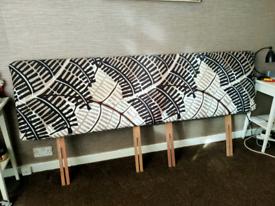 Super king size headboard - handmade