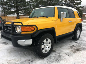 2008 Toyota FJ Cruiser *Low Mileage *Safety* Only 135kms!