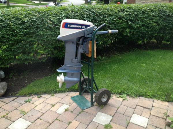 Used 1976 Evinrude 15 horse 2 stroke short shaft