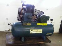 Compresseur DEVIL BISS 7.5 HP / 80 Gal. / 600 Volt