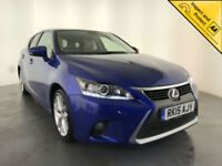 2015 LEXUS CT 200H LUXURY CVT AUTO HYBRID FREE ROAD TAX 1 OWNER SERVICE HISTORY