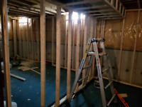 RENOVATIONS FOR ALL TYPES OF WORK FINISHING CONTACT NOW!