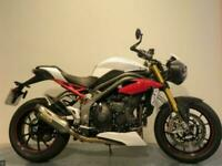 2017 TRIUMPH SPEED TRIPLE 1050 R MILEAGE 5104