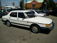 MINT 1988 SAAB 900 Parts Car! Only 64,000 KM on car!!