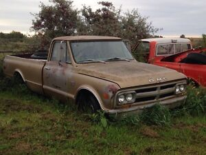 1968 GMC S10 for parts or project