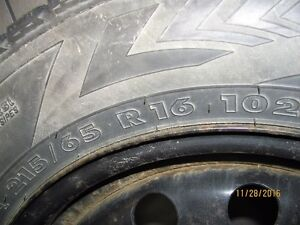 Price reduction - winter tires on rims Price Campbell River Comox Valley Area image 3