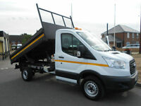 2015 Ford TRANSIT 350 L2 TIPPER TRUCK Diesel 125 ps * Only 17K Miles *