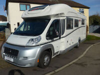 Carthago Chic T Plus 5.2H Low Profile Island Bed, Electric Drop down Bed, 150BHP