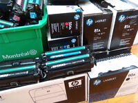 Lexmark, Hp used toner cartridges Collection and Recycling.