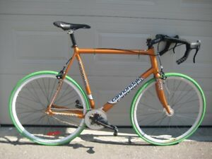 Single Speed Metallic Orange Cannondale