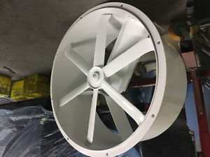 """34"""" spray booth exhaust fan"""