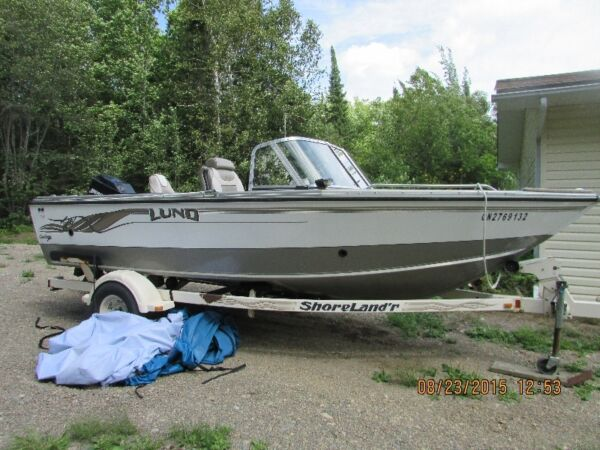 Used 2001 Lund Boat Co tyee grand sport
