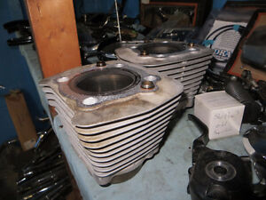 Pair of Harley 883cc cylinders