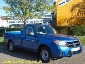 2011/ 61 Ford Ranger 2.5TDCi 4x2 Super Cab XL Pick-up & Tail Lift rwd