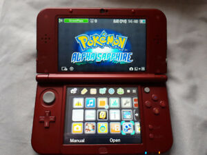 New Red 3ds XL